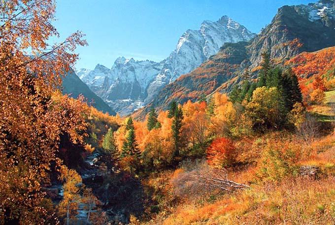 """фото """"Краски Кавказской осени"""" метки: пейзаж, горы, осень"""