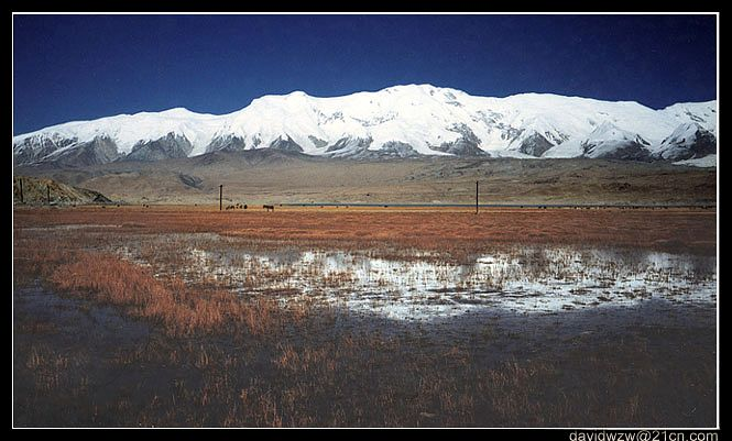 "photo ""The Landscape Of The Silk Road II"" tags: landscape, mountains, water"