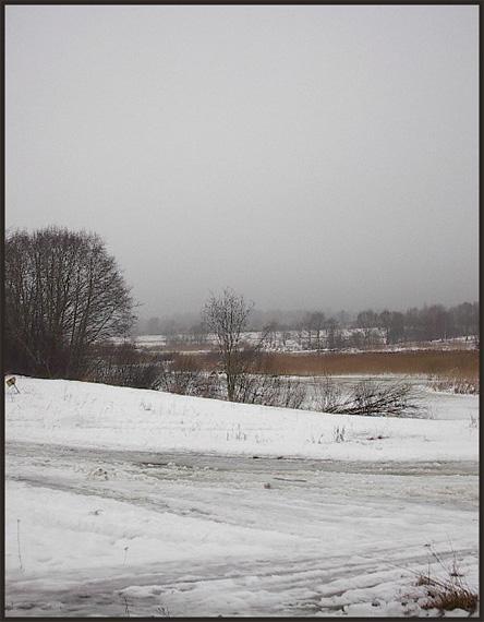 """photo """"Latvian landscape... 1"""" tags: landscape, nature, winter"""