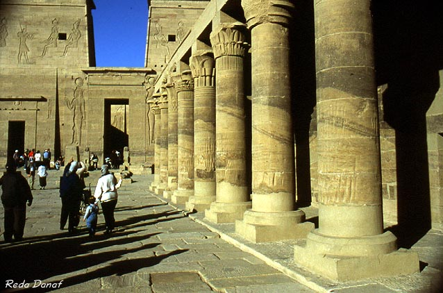 "photo ""Isis Temple"" tags: travel, architecture, landscape, Africa"