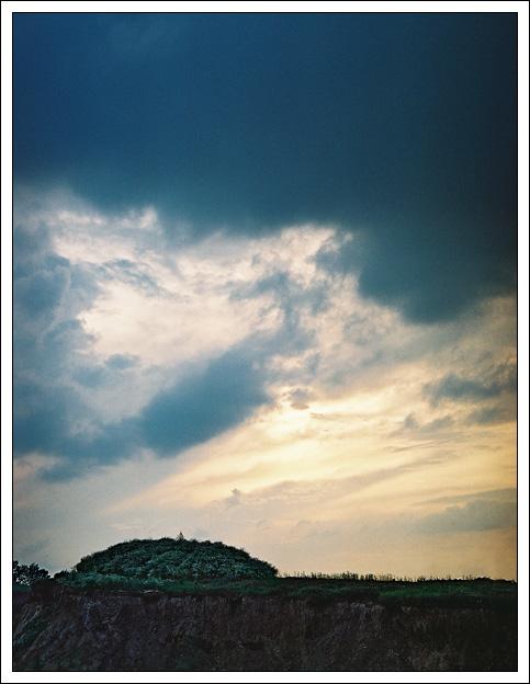 """фото """"Тревожное небо"""" метки: пейзаж, закат, облака"""