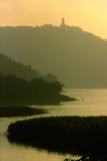 "photo ""Sun Moon Lake"" tags: landscape,"