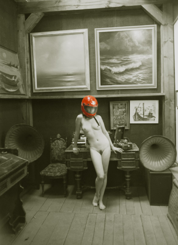 "photo ""Red helmet"" tags: nude,"