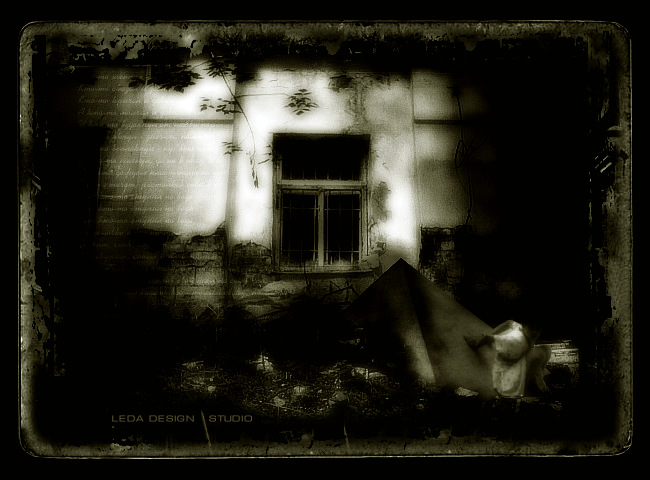 "photo ""In depressionism style"" tags: montage, genre,"