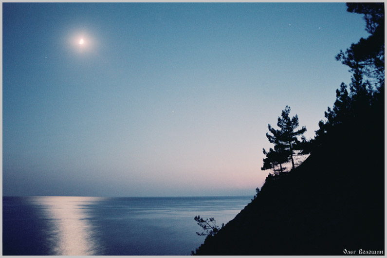 "photo ""Serigraphy"" tags: landscape, night, sunset"