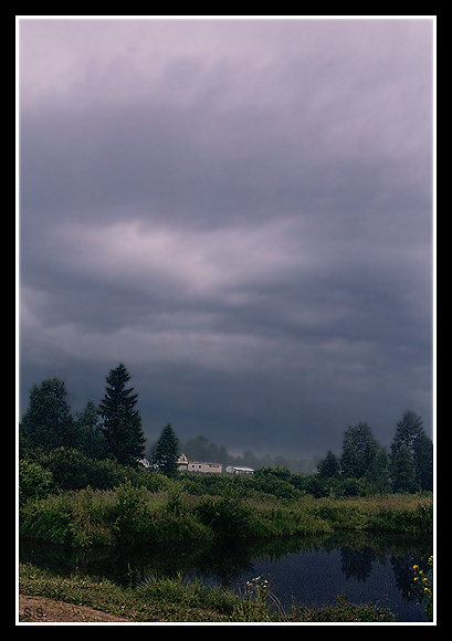 "photo ""Presentiment of a thunder-storm...."" tags: landscape, summer"