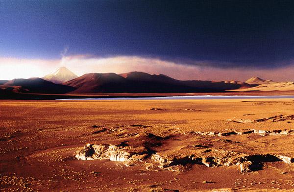 """фото """"Salar de Aguas Calientes"""" метки: путешествия, пейзаж, Южная Америка, горы"""