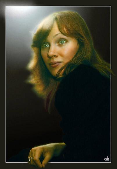 """фото """"Неожиданность"""" метки: портрет, женщина"""