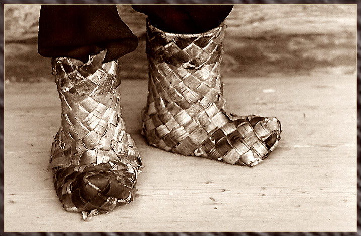"photo ""Boots - slow movers"" tags: humor, travel,"