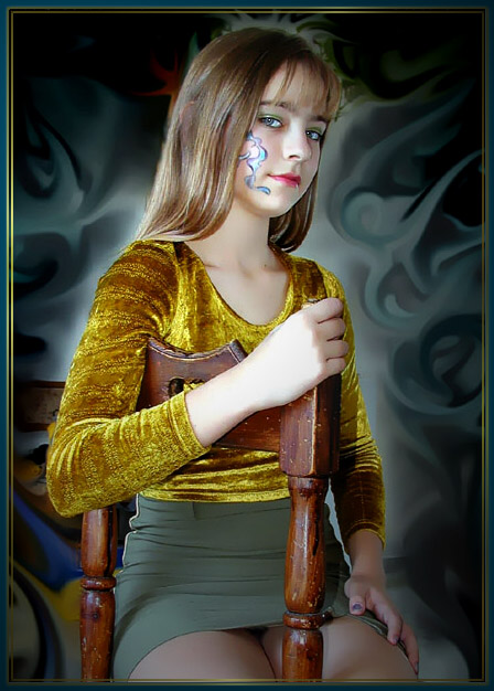 "photo ""Kristina 3"" tags: portrait, montage,"