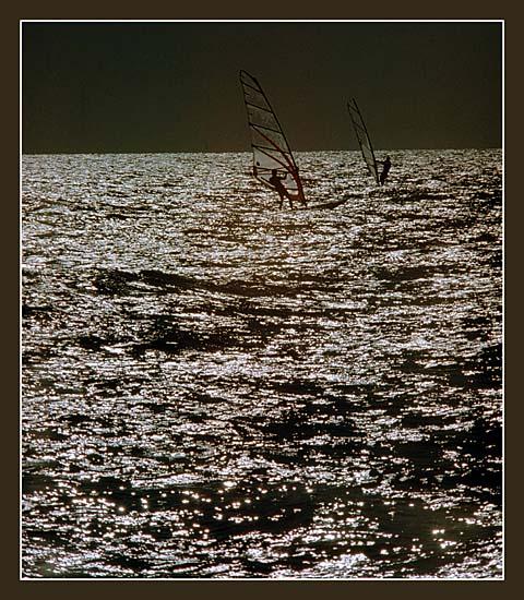 """фото """"Night surfing"""" метки: пейзаж, вода"""