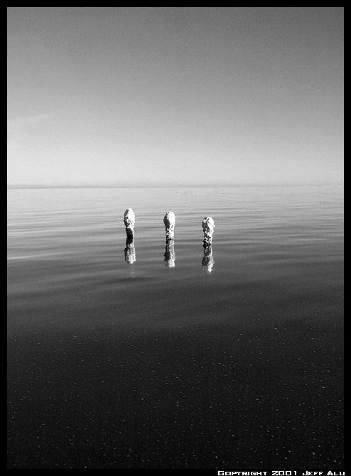 "фото ""Three Posts"" метки: пейзаж, природа, вода"