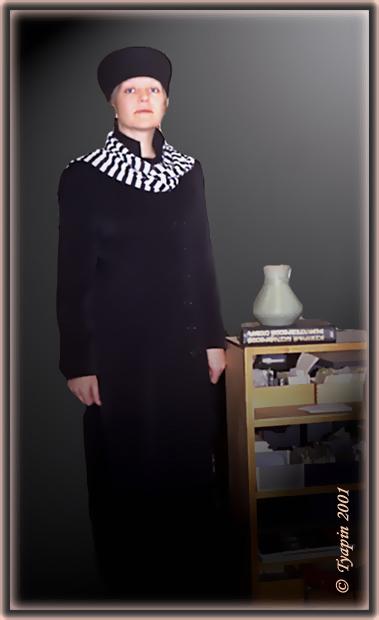 """photo """"Portrait"""" tags: portrait, genre, woman"""