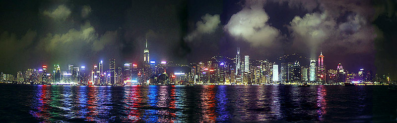 """photo """"Waterfront,HongKong"""" tags: travel, architecture, landscape, Asia"""
