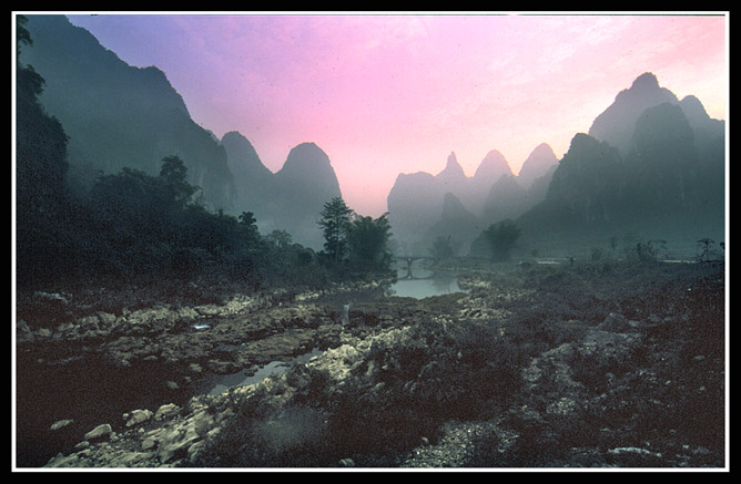 """фото """"The morning in mountains"""" метки: пейзаж, горы, закат"""