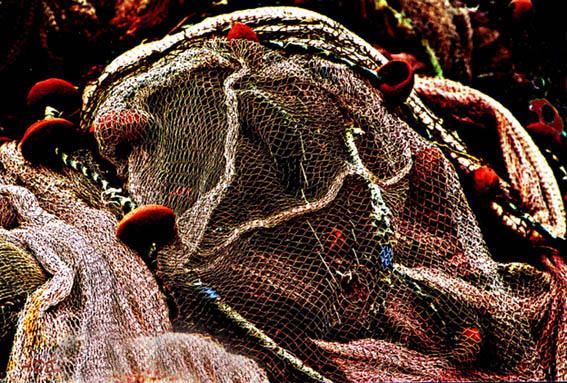 """фото """"Fishing Nets"""" метки: натюрморт, абстракция,"""