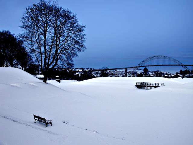 """фото """"Winter in Fredrikstad"""" метки: пейзаж, зима"""