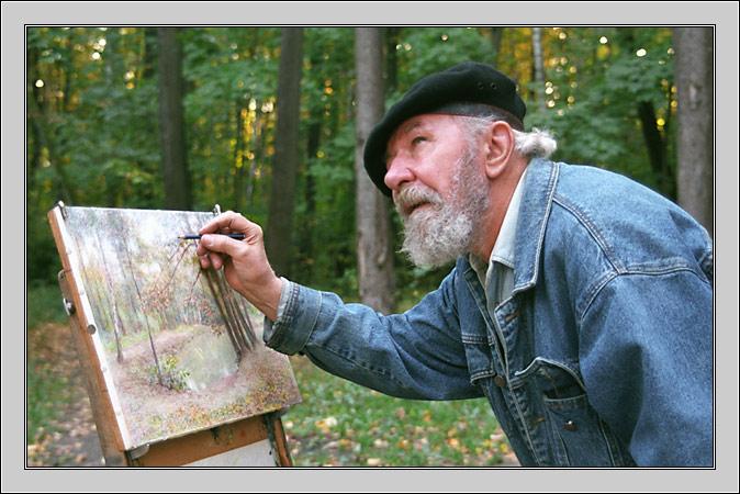 "фото ""На пленере"" метки: жанр, портрет, мужчина"