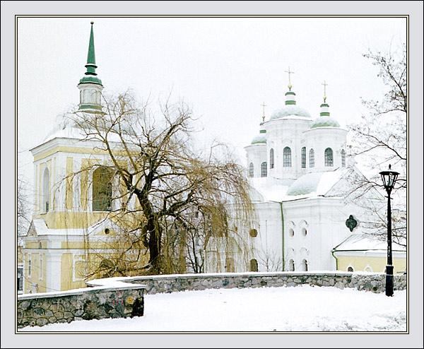 """фото """"Зимний этюд #2"""" метки: архитектура, пейзаж,"""