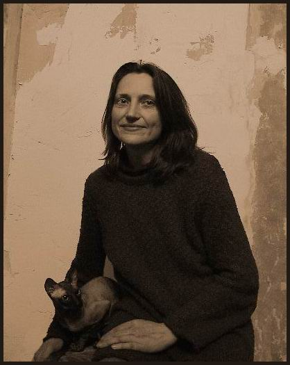 "photo ""Lady With a Cat"" tags: portrait, woman"
