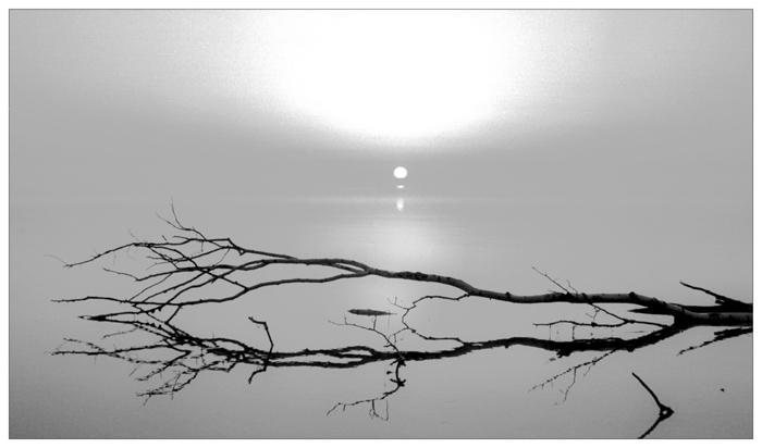 "photo ""At sunrise - III"" tags: landscape, misc., sunset"