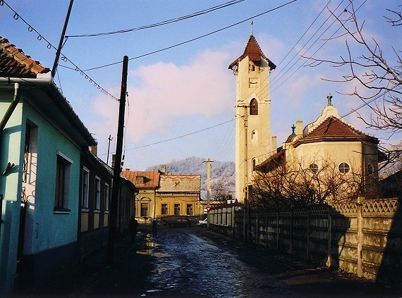 "photo ""Baia Mare postcard # 2"" tags: architecture, travel, landscape, Europe"