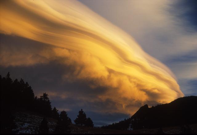 "фото ""Silk Scarf Sunset 2"" метки: пейзаж, закат, облака"