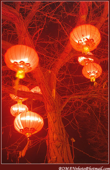 "photo ""Copenhagen in chinese sauce or Tivoli with Lilia-2"" tags: travel, landscape, Europe, night"