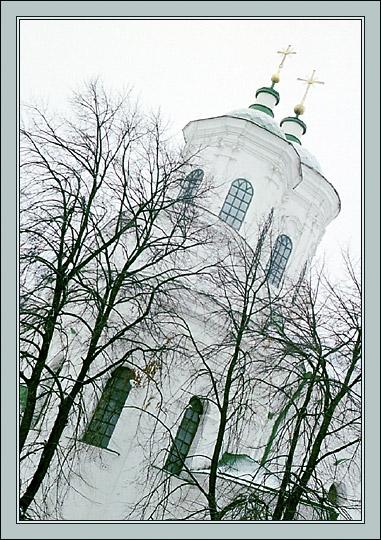 """фото """"Зимний этюд"""" метки: архитектура, пейзаж,"""