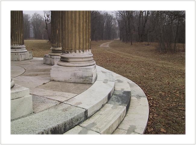 "фото ""Pillars"" метки: пейзаж, абстракция, зима"