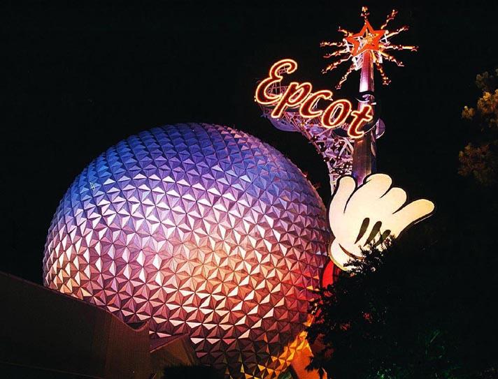 """фото """"Disney Landmark"""" метки: путешествия, пейзаж, Северная Америка, ночь"""