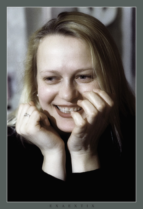"photo ""Well, has made laugh"" tags: portrait, woman"