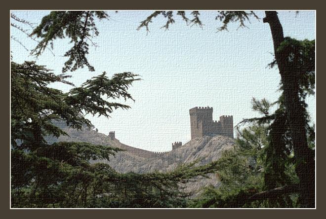 """фото """"Старая крепость"""" метки: пейзаж, горы"""