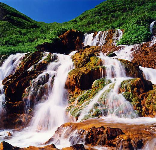 """фото """"Falls"""" метки: пейзаж, вода, лето"""