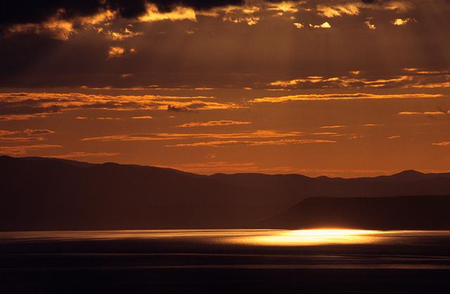"""photo """"Sunset. Amursky Bay 2"""" tags: landscape, sunset, water"""