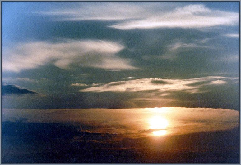 "фото ""Тучи и солнце"" метки: пейзаж, закат, облака"