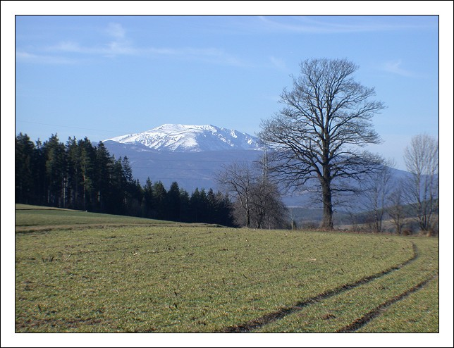"photo ""Schneeberg"" tags: landscape, mountains, winter"