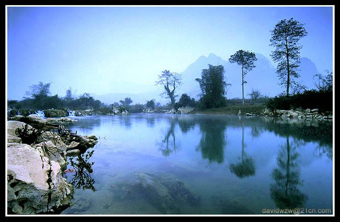 "фото ""Quiet river"" метки: пейзаж, вода, закат"