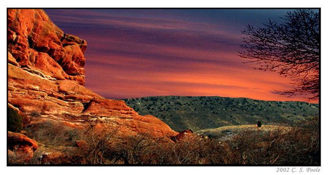 """фото """"Painted Sky"""" метки: пейзаж, закат, облака"""