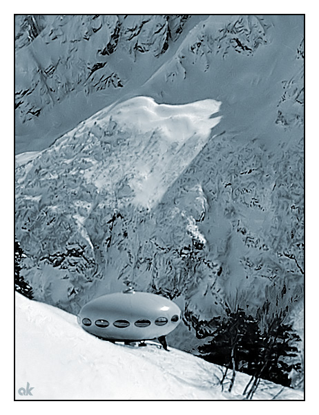 """photo """"Aliens"""" tags: landscape, mountains"""