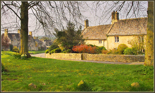 "photo ""Windrush Village"" tags: landscape, montage, spring"