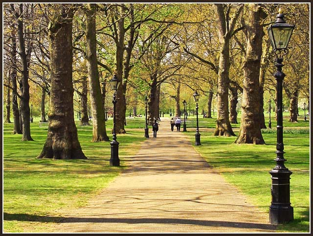 "photo ""Springtime in Green Park"" tags: landscape, travel, Europe, spring"