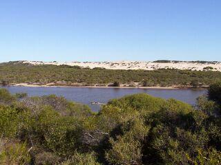 "photo ""Greenough River, Western Aust."" tags: travel, landscape, Australia, water"