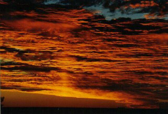 "фото ""Another of John`s sunsets in Geraldton"" метки: пейзаж, путешествия, Австралия, закат"
