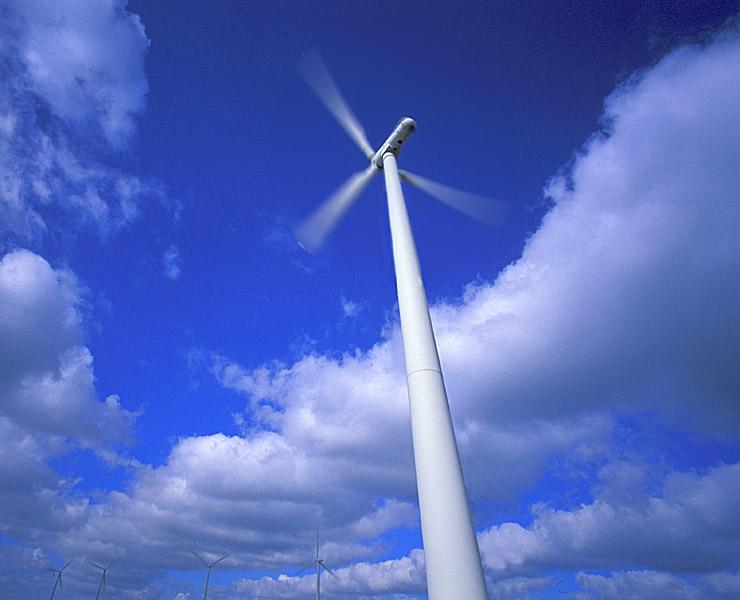 """фото """"Wind Farm"""" метки: пейзаж, разное, облака"""
