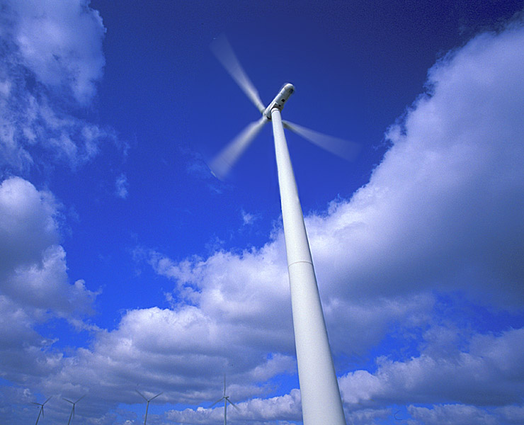 "photo ""Wind Farm"" tags: landscape, misc., clouds"
