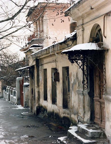 """фото """"Серый январский день"""" метки: архитектура, путешествия, пейзаж, Европа"""