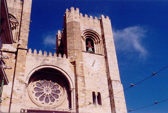 """photo """"Lisbon`s midle ages most important place"""" tags: architecture, landscape,"""