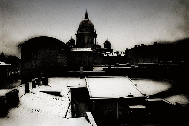 """фото """"Daguerotype"""" метки: архитектура, пейзаж, зима"""
