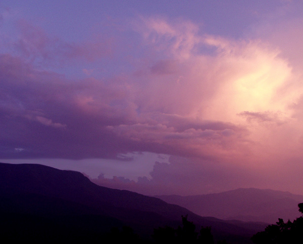 "photo ""Peace in the Valley"" tags: landscape, mountains, sunset"